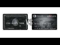 ブラックカード2強比較!アメックスかダイナースか