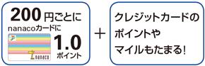 クイックペイ(nanaco)