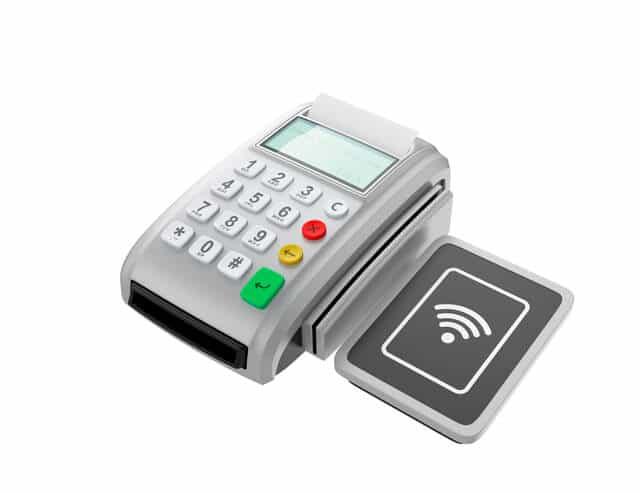 電子マネー支払い端末