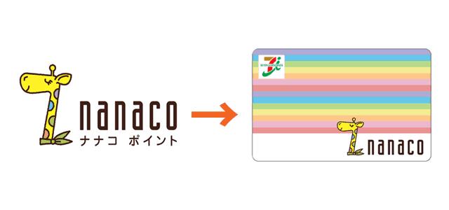 nanacoポイントを電子マネーに交換