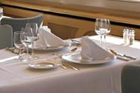 レストランの優遇サービス