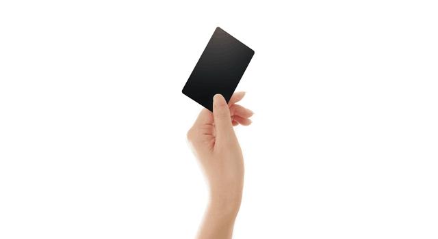 黒いカード
