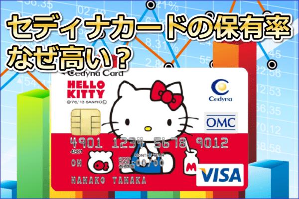 なんでみんなセディナカード使ってるの?コストパフォーマンスが高いのは本当か