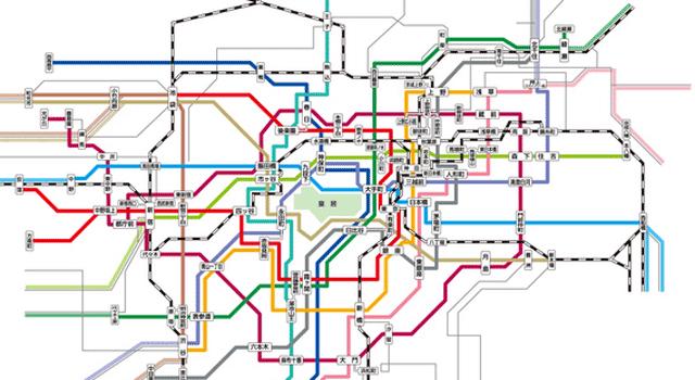 JR東日本と地下鉄