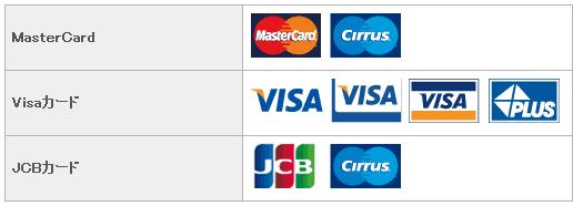 海外キャッシング(VISA、Mastercard、JCB)