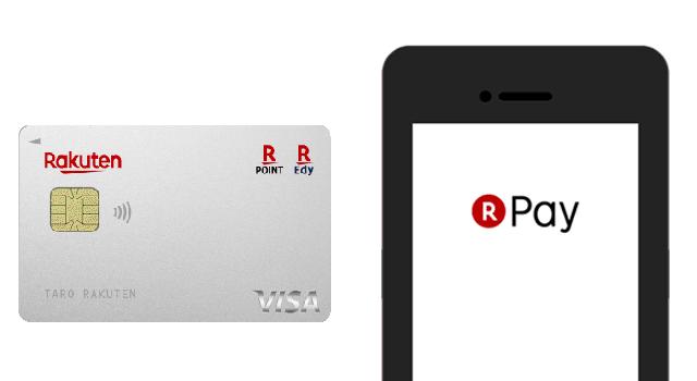 楽天カードと楽天ペイの違いとは?支払い方法やポイント付与率を